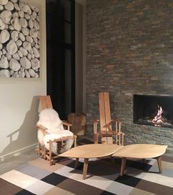 meuble réalisé par Sandrine Latournerie créatrice mobilier contemporain